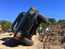 Winching Course at Overland Expo